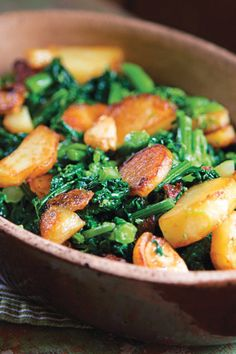 rabe with potatoes broccoli rabe sidedishes side dishes sauted ...