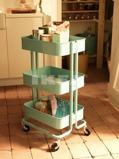 OMG !!! je veux ça !!!!! IKEA kitchen trolly living rooms, kitchen carts, craft supplies, laundry rooms, kitchen interior, design kitchen, kitchen designs, ikea, craft rooms