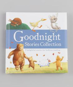 Take a look at this Meadowside Treasury Goodnight Stories Collection Padded Hardcover by Parragon on #zulily today!