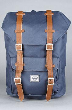 The Little America Medium Backpack in Navy from HERSCHEL SUPPLY