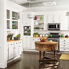 104 Beautiful Kitchens | Charming Farmhouse Kitchen | SouthernLiving.com