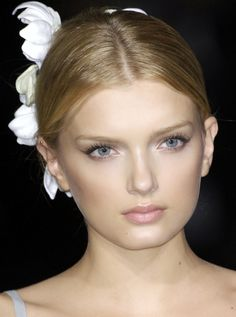 Lily Donaldson at Dolce & Gabbana S/S 2009