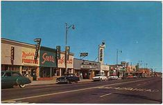 Lancaster, California.  late 1950s