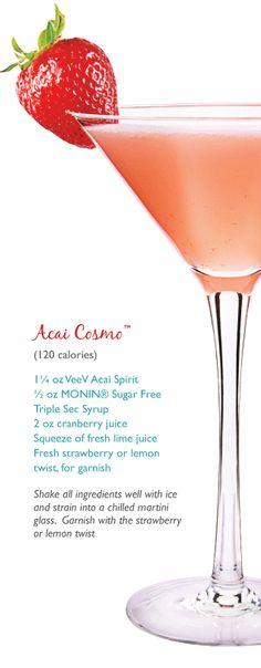 Acai Cosmo Cocktail Recipes — Dishmaps