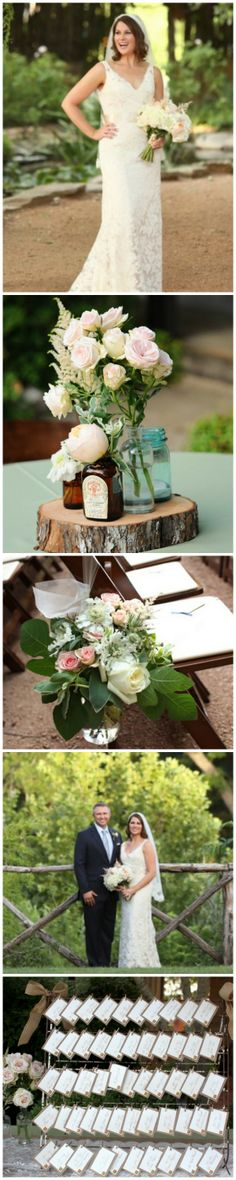 A rustic chic wedding filled with great ideas!