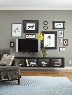 Designing around the tv