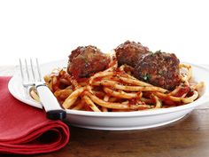 Pasta with Meatballs from #FNMag #RecipeOfTheDay