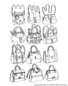 New Fashion Designers Drawings Of Handbags  Google Search