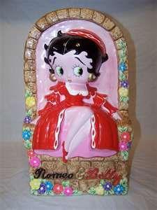 Collectible Star Jars Betty Boop Juliet Cookie Jar | eBay