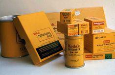 Vintage / retro Kodak packaging