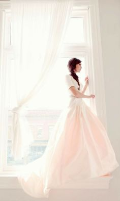 10 Blush Wedding Dresses That Will Make Your Heart Skip a Beat: Pastel blush wedding dresses