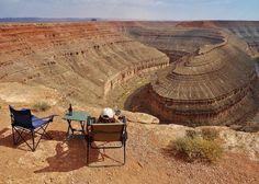 GooseNecks State Park in Utah, Fantastic Free! Boondocking location. LoveYourRV.com
