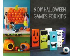 9 Fun DIY Halloween Games for Kids