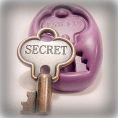 Word key ..Secret FLEXIBLE MOLD / mould