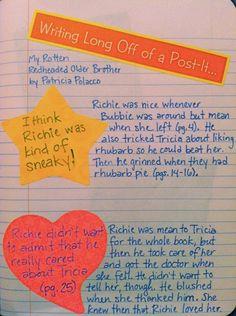 Readers Notebook