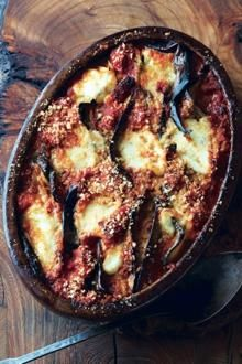 Aubergine parmigiana with pancetta | The Times
