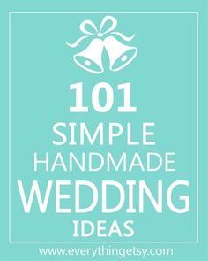 DIY wedding ideas -pin now, read later