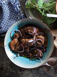 Khoresht-e Fesenjan (a Classic Iranian Chicken and Walnut Stew)