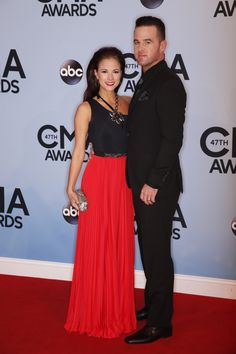 David Nail looking dapper on the red carpet. See MORE red carpet looks here>> http://my.gactv.com/cma-awards/2013-Red-Carpet/gallery.esi