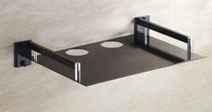Tv Set-top Boxes Space Aluminum Wall Shelf Wall-mounted Single Black Creative Home Decorations - Listing price: $50.99 Now: $23.99