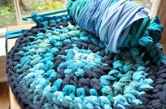 Chunky Crochet Chair Mats