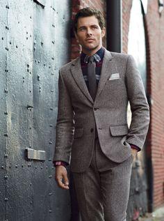 tweed + plaid