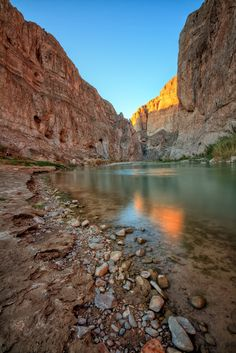Boquillas Canyon, Big Bend National Park, Texas.