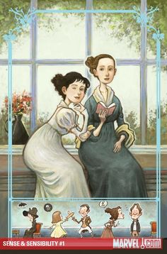 Marvel Comics did Sense and Sensibility? How do I not own this already?!