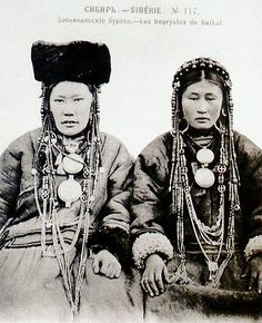Siberia | Baikal Buryats | Unfortunately date and photographer details not provided at the source.