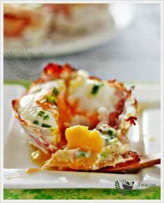 Egg Muffins by anncoojournal #Muffins #Eggs #Low_Carb