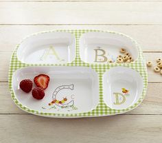 Classic ABC Divided Plate #pbkids