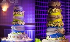 This Bollywood Tiered Wedding Cake is Amazing!