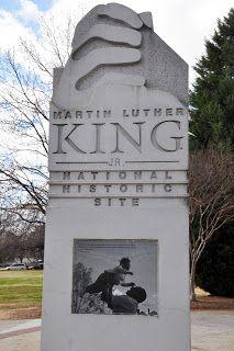 Martin Luther King Jr. Memorial Site in Atlanta, Georgia