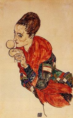 by Egon #Schiele
