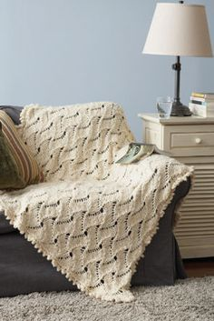 Free Pattern: Lazy Waves Afghan
