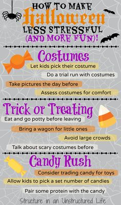How to make Halloween less stressful and more fun! -Momo