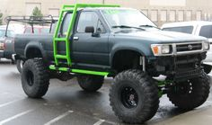 4x4 toyota pick up truck Now that's what I'm talking about