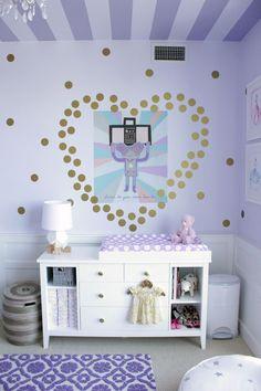 nurserydesign, zelda nurseri, heart sticker, heart decal