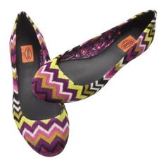 Ballet Flats by Missoni for Target: $29.99