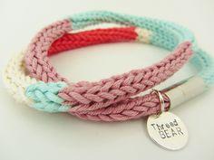 Wrap Bracelet by ThreadBEARUK, via Flickr