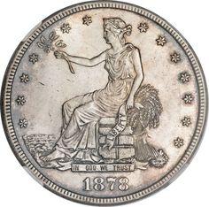 Silver Dollar Coin Prices   1878-CC Trade Dollar Silver Dollar