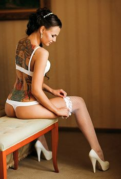sexy #tattoo girl