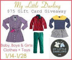My Little Darling $75 Gift Card #Giveaway
