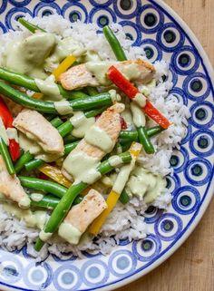 Recipe: Chicken and Green Bean Stir-Fry