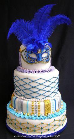 Venetian wedding cake by Crazy Cake - Cakedesigner57, via Flickr