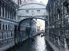 The Bridge of Sighs- romantic name, romantic place, not so romantic history.