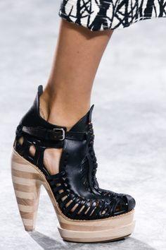 New York fashion week, catwalk, runway show, review, critic, spring summer 2014, shoes, proenza schouler