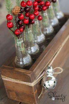 DIY Soda Bottle Crate Perfect Centerpiece or gift!