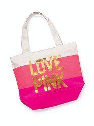 perfect beach bag!  #dreamingofapinksummer