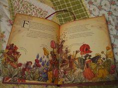 book, poppi, fairi tale, flower fairies